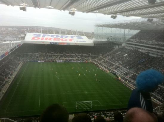 View From The Away End Picture Of St James Park