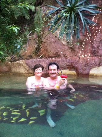 The Lost Spring: Having a cocktail with the 1 you love.