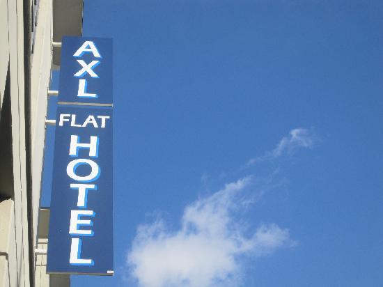 A-XL Flathotel: entree AXL APARTHOTEL