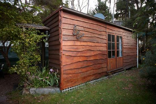Crayfish Creek, Australia: Spa Cabin