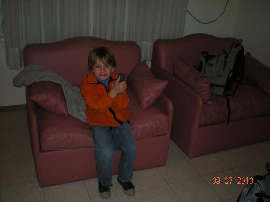 Apart Hotel Riviera : sofa