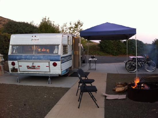 Ocean Mesa Campground at El Capitan: Site 822
