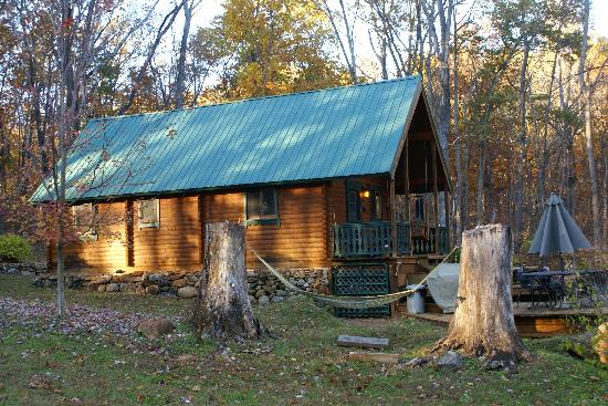 Cabin At The Mill: side view