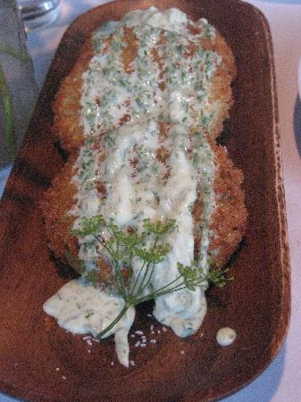 Nebo Lodge: Fried Green Tomatoes
