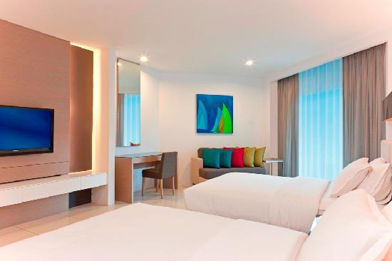 Century Langkasuka Resort: Comfort Room with Two Double Beds