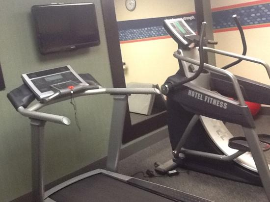 Hampton Inn and Suites Toledo-North: gym facility