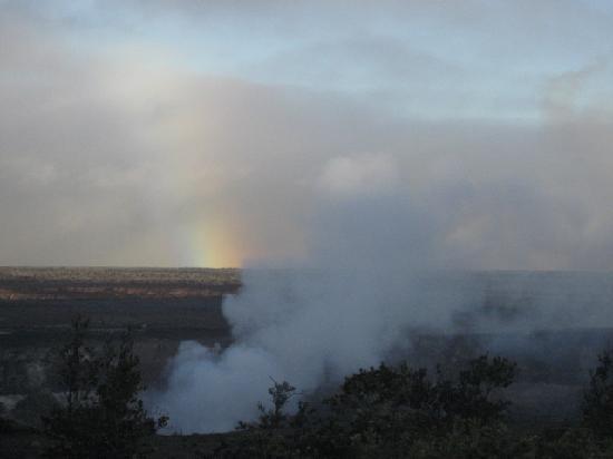 Hualalai: the rainbow had faded at this point