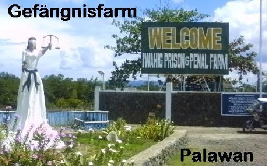Puerto Pension Inn: Gefaengnisfarm Palawan