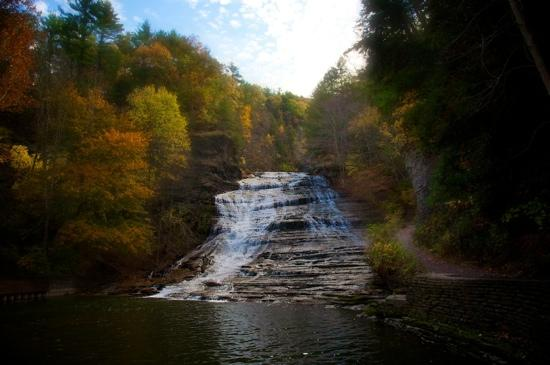 Ithaca, Estado de Nueva York: Buttermilk Falls 10/29/11