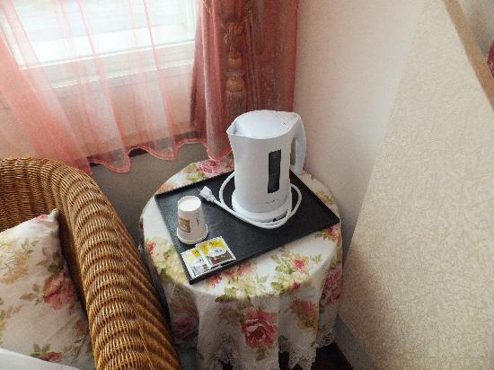 Hualien Sunrise Hostel: Tea set
