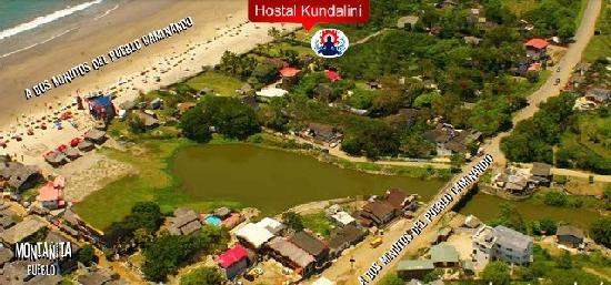 Hostal Kundalini: La mejor ubicacion