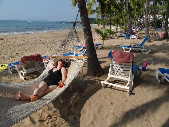 Club Med Ixtapa Pacific: hammock on the beach