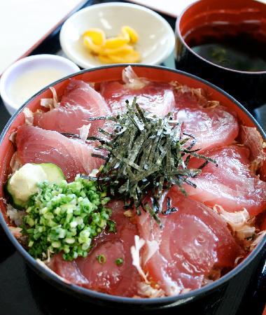 Makurazaki, Japón: 枕崎名物「かつお丼」