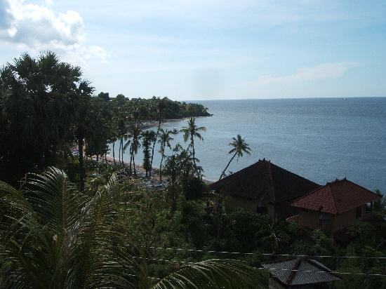 Bayu Cottages Hotel and Restaurant: View from the room