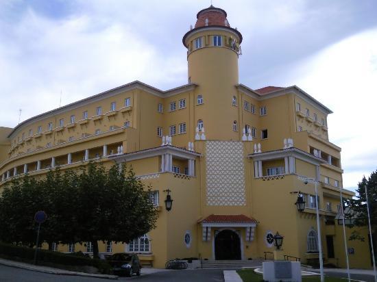 Grande Hôtel de Luso, façade