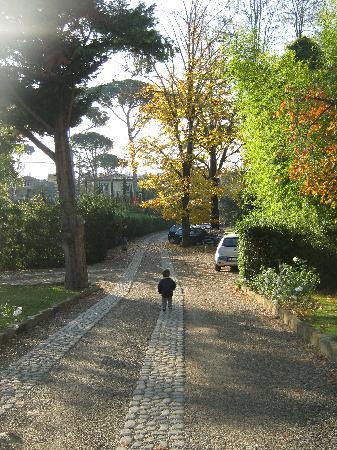 Hotel Villa Betania: Il bellissimo giardino