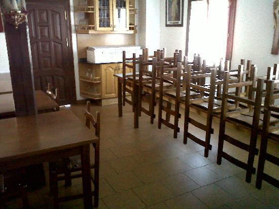 San Sebastian de Garabandal, Espanha: comedor