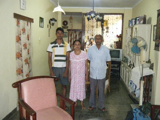 Green Villa Kandy: A very proud Mum Dad & Son - lovely people