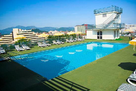 Hotel Grand Torino: terrazzo