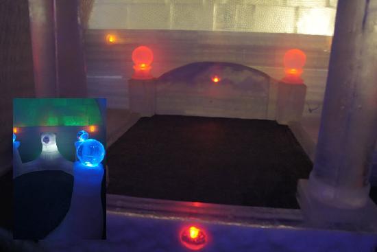 The Aurora Ice Museum: Camas