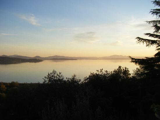 Villa Trasimeno: view from the property