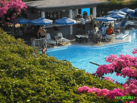 Loutanis Hotel: Lovely pool area, not enough sunbeds for guests.