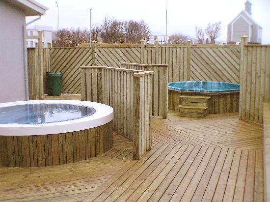 Fosshotel Reykholt: Hot Tubs