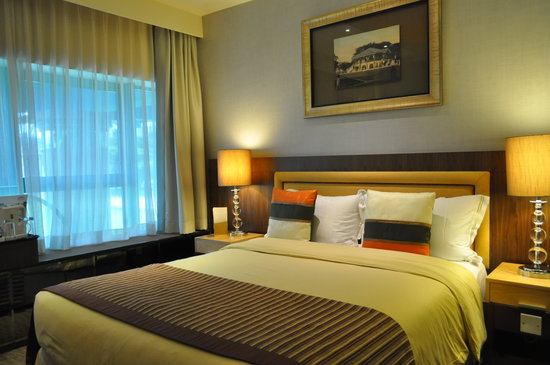 The Residence At Singapore Recreation Club: the bedroom