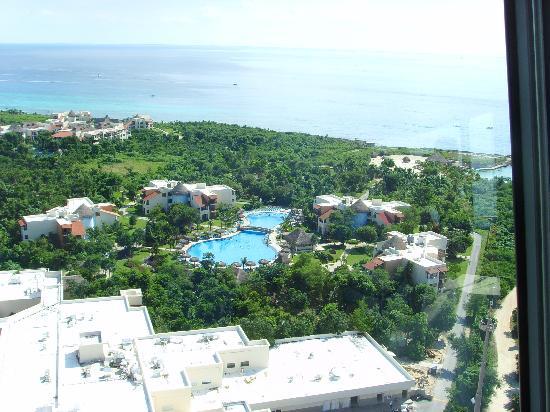 Riviera Maya Suites: Panorámica desde Xcaret