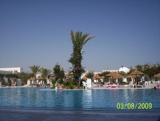 سيبل ريم بيتش: la piscine