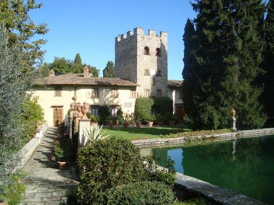 Greve in Chianti, Italy: il castello