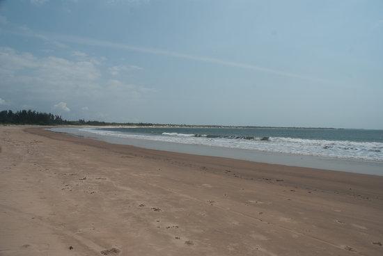 Mambrui, Kenia: spiaggia dorata
