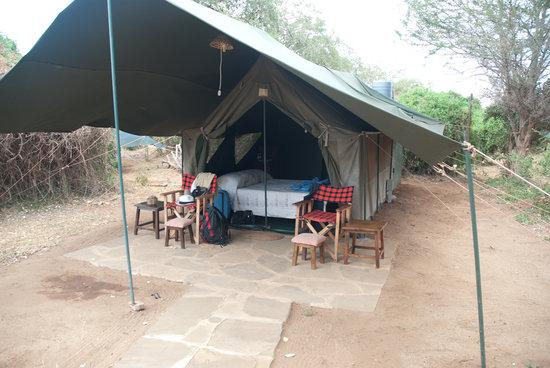 Sentrim Tsavo East : la nostra tenda
