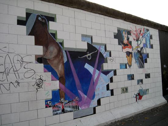 Pink Floyd The Wall Art pink floyd 'the wall' mural - picture of east side gallery, berlin