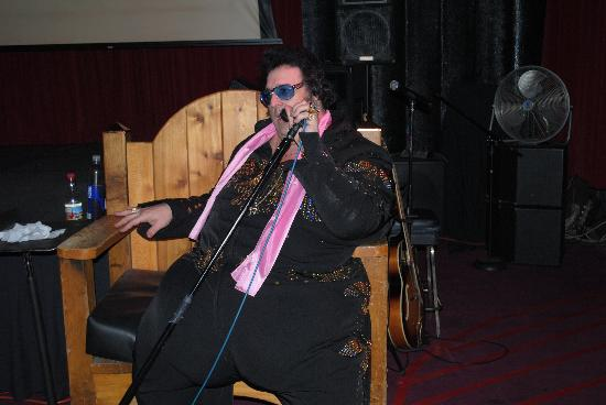 Little Gem Saloon >> Big Elvis rocks the house. - Picture of Casino at Bill's Gamblin' Hall & Saloon, Las Vegas ...