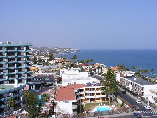 Las Arenas Apartamentos: View from hotel roof