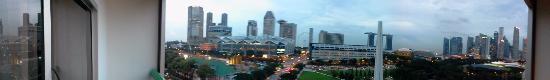 فيرمونت سنغافورة: 180deg view from room balcony