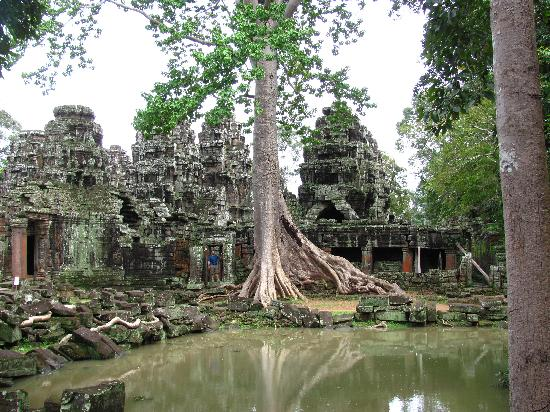 Ta Som Guesthouse: Banteay Kdei temple