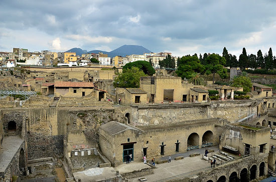 Ercolano, Włochy: city of herculaneum