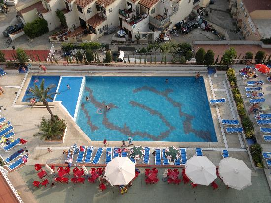 Xon's Platja Hotel: Hotel zwemmbad.