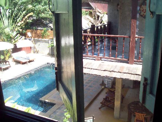 Buri Gallery House: View from room.