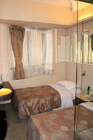 シルカ シービュー ホテル(香港海景絲麗酒店), ツインの部屋です。