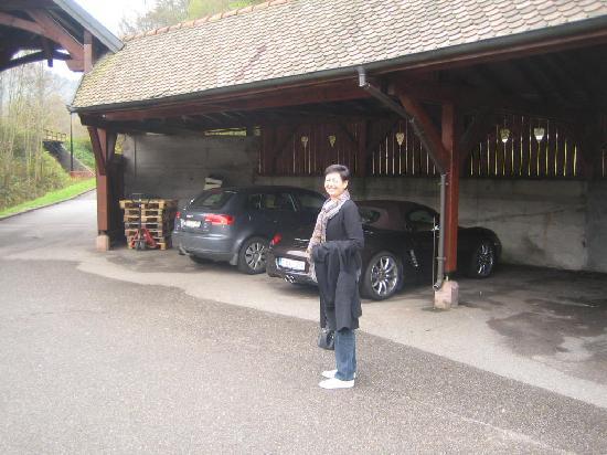 Hotel Julien : Parking