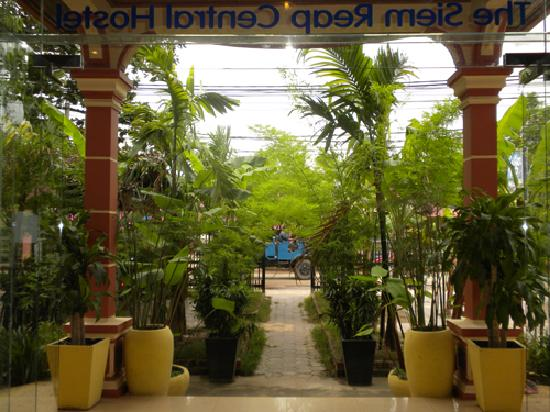 The Siem Reap Central Hostel: In Front of