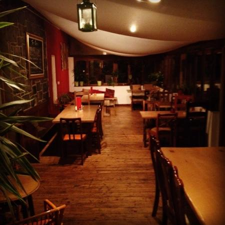 The Heights Bar & Kitchen: the conservatory