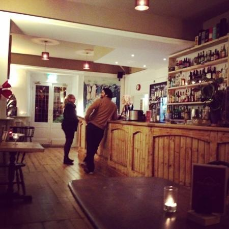 The Heights Bar & Kitchen: the bar area