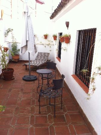Hospederia del Atalia: terraza de la habitacion suite 201
