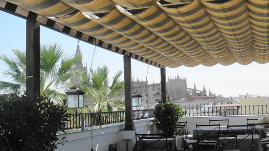 El Mirador de Sevilla: What a wonderful restaurant