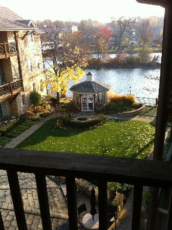The Herrington Inn & Spa: A view from our balcony.