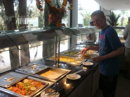 SENTIDO Phenicia : main restaurant buffet